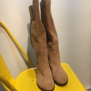 NWOT Nine West suede boots